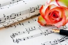 Выполню подбор мелодии и аккомпанемента композиции, напишу ноты 23 - kwork.ru