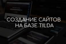 Красивый сайт-визитка за 1 день 11 - kwork.ru