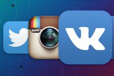Управление аккаунтами в социальных сетях 10 - kwork.ru