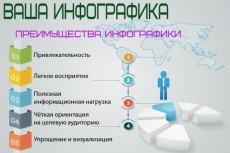 Вышлю векторную инфографику + векторные рисунки 5 - kwork.ru
