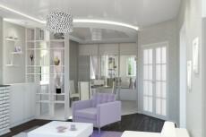 3D визуализация помещения, торговой точки 21 - kwork.ru