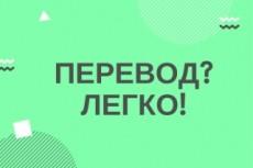Перевод Английский - Русский - Английский 25 - kwork.ru