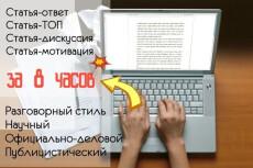 Проверка орфографии, пунктуации, речевых ошибок 19 - kwork.ru