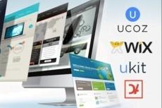 Создам сайт-лэндинг на платформе Wix 14 - kwork.ru