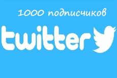1700 подписчиков в ваш аккаунт Twitter 10 - kwork.ru