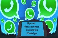 Найду номера whatsapp среди ваших контактов или базы данных 7 - kwork.ru