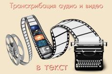 Предоставляю услугу перепечатки текста из аудио и видеозаписей 21 - kwork.ru
