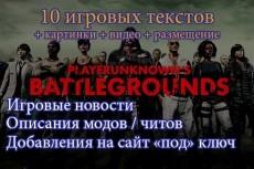 Напишу игровую статью 4 - kwork.ru