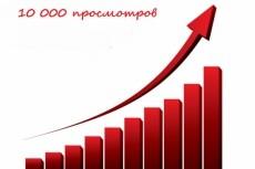 8000 тысяч просмотров для вашего сайта + 2000 тысячи в подарок 20 - kwork.ru