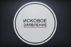 Составлю исковое заявление 14 - kwork.ru