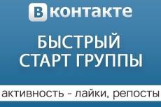 Безопасная раскрутка группы Вконтакте - подписчики, лайки и репосты 7 - kwork.ru