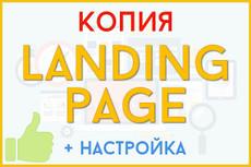 Сделаю копию лендинга 16 - kwork.ru
