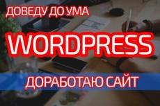 Доработаю ваш сайт на Wordpress 11 - kwork.ru