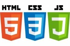 Исправление верстки и ошибок шаблона html/CSS/JS 5 - kwork.ru