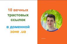 Оставлю 15 вечных ссылок на трастовых сайтах + бонус 15 - kwork.ru