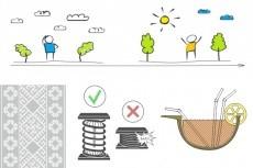 Иллюстрация персонажа в векторе 15 - kwork.ru