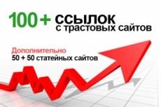 Размещу 5 ссылок на ваш сайт 41 - kwork.ru