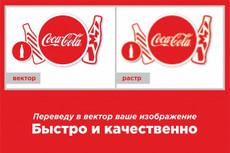 Отрисую или переведу любое изображение в вектор 16 - kwork.ru