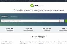 Сбор ключевых слов для контекстной рекламы или семантического ядра 26 - kwork.ru