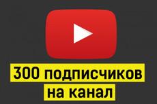400 качественных подписчиков YouTube. Гарантия от списания 16 - kwork.ru