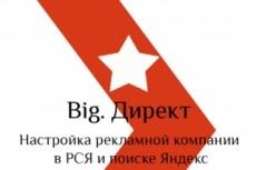 Настройка рекламных компаний в рекламной сети Яндекса РСЯ 13 - kwork.ru