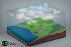 Реалестичная 3D анимация на заказ 22 - kwork.ru
