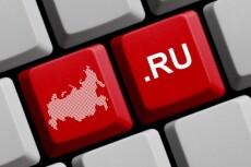 Зарегистрирую 3 домена в зоне RU 14 - kwork.ru