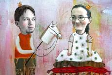 Оригинальный плакат-поздравление 13 - kwork.ru