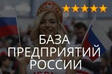 База предприятий и организаций Екатеринбург 6 - kwork.ru