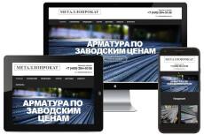Адаптация сайта под мобильные устройства 229 - kwork.ru