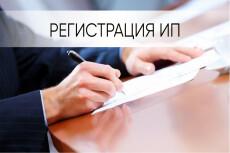 Сделаю документы для регистрации ИП 19 - kwork.ru
