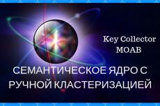 Семантическое ядро для сайта и контекста 36 - kwork.ru