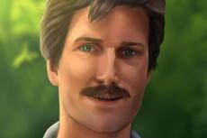 Нарисую Ваш портрет в собственном стиле 10 - kwork.ru