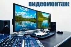 Видеомонтаж 7 - kwork.ru