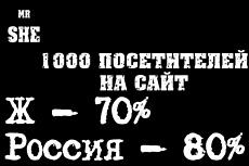 От 15000 качественных посещений из России 10 - kwork.ru