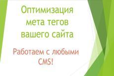 Полный анализ вашего сайта 22 - kwork.ru