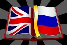 Сделаю перевод на английском языке 22 - kwork.ru