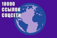 Размещу 300 вечных и трастовых ссылок на ваш сайт 10 - kwork.ru