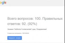 Перенесу рекламные кампании из Яндекс Директ в Гугл эдвордс 29 - kwork.ru