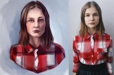 Нарисую cg портрет 16 - kwork.ru