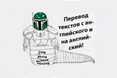 Сделаю литературный перевод с английского на русский 34 - kwork.ru