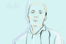 Цифровая живопись Портрет Digital painting 9 - kwork.ru