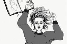 Нарисую fashion-иллюстрации, скетчи 23 - kwork.ru