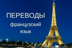 Переведу с французского 23 - kwork.ru