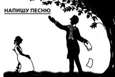 Напишу песню 17 - kwork.ru