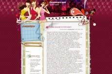 Автонаполняемый сайт. Женский Журнал. 10000 материалов 10 - kwork.ru