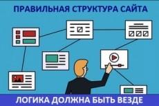 SEO оптимизация - метатеги, заголовки H1 - H3, ключевые слова 18 - kwork.ru