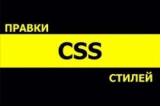 Правки CSS стилей сайта 14 - kwork.ru