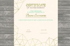 Сделаю диплом, сертификат 13 - kwork.ru