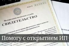 Подготовлю документы для регистрации ИП 20 - kwork.ru